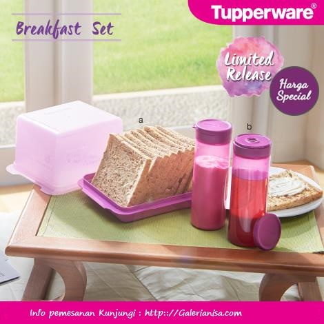 breakfast set Tupperware