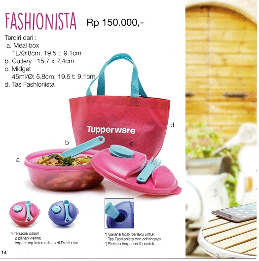 Fashionista Tupperware