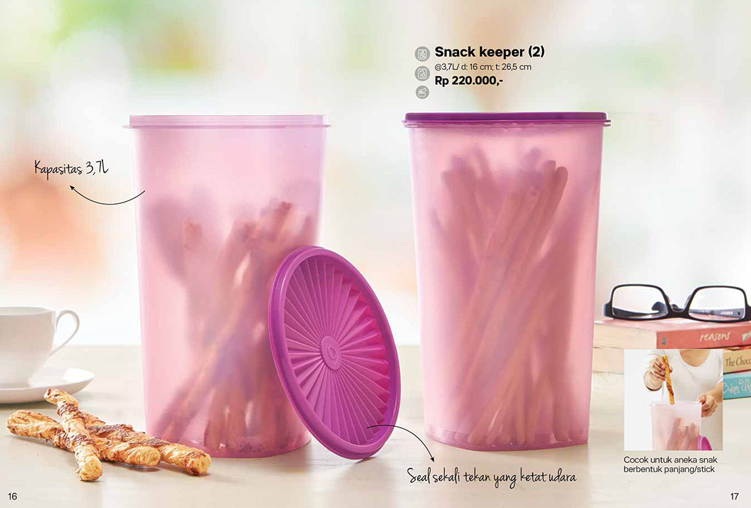 Snack Keeper Tupperware