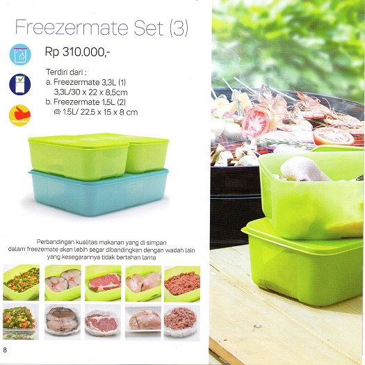Freezermate Set Tupperware