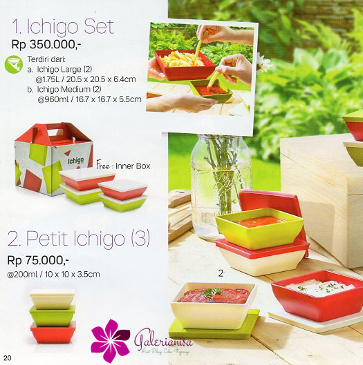 Ichigo Set Tupperware