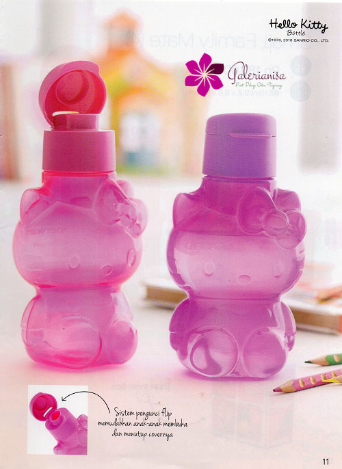 Hello Kitty Bottle Tupperware