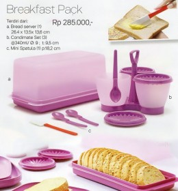 Breakfast Pack Tupperware