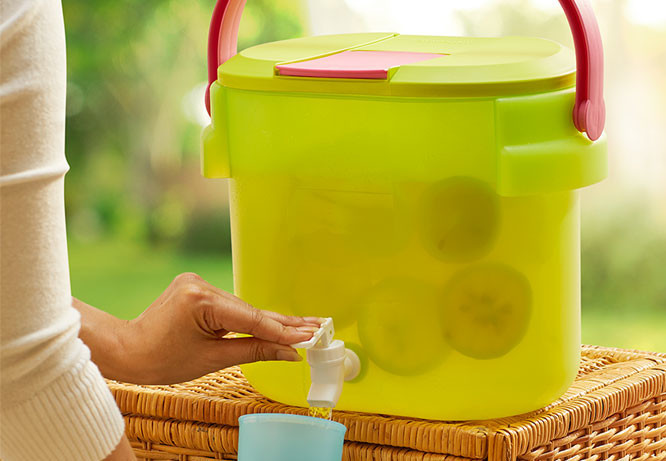 Outdoor Cooler Tupperware
