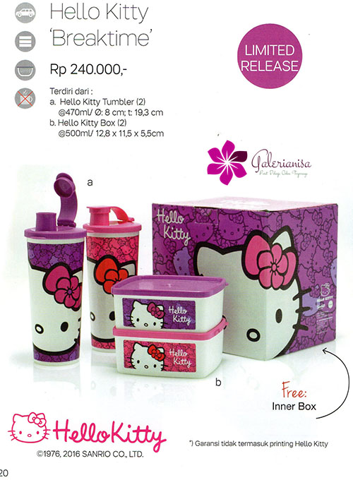 Hello Kitty Breaktime Tupperware