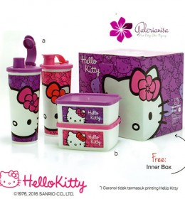 Hello Kitty Break Time Tupperware