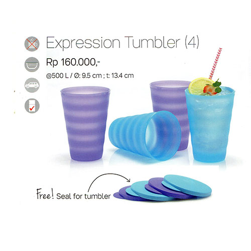 Expression Tumbler Tupperware