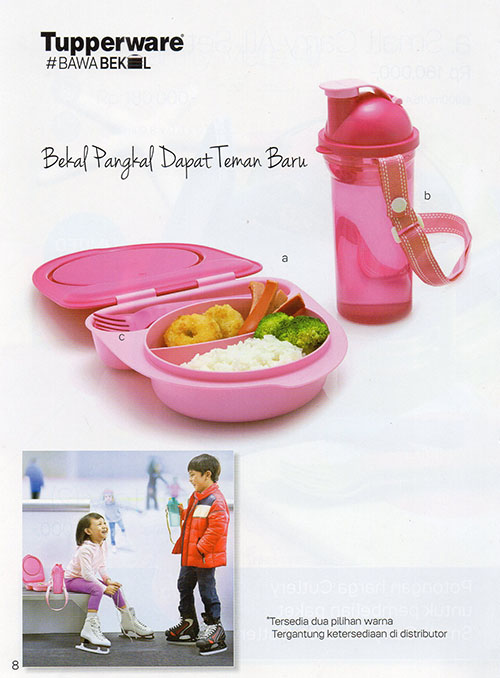 Tupperware Kiddie Luch Set