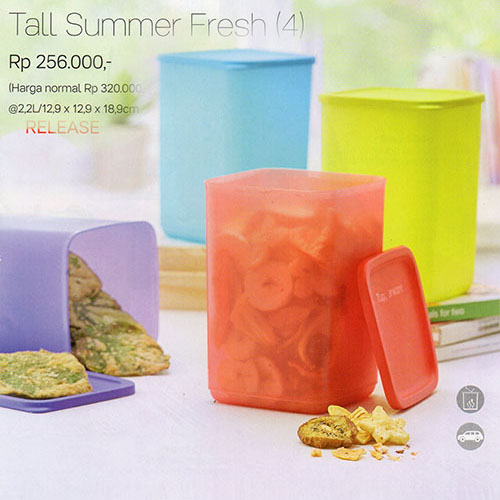 Tall Summer Fresh Tupperware