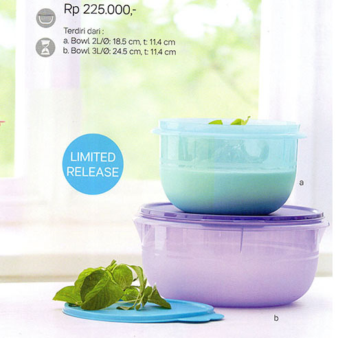 Wonderbowl Set Tupperware