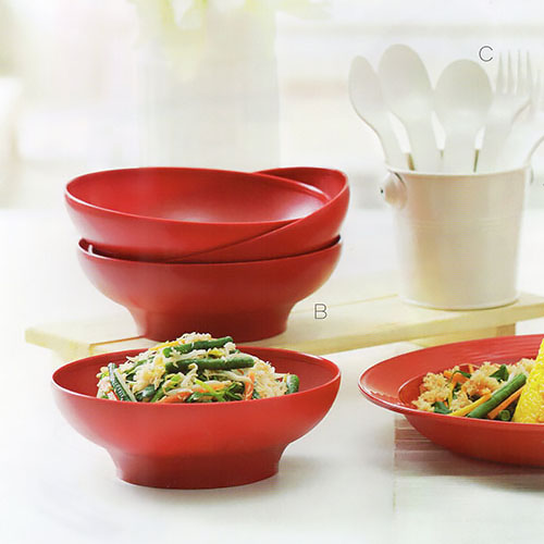 Cherry Bowl Tupperware