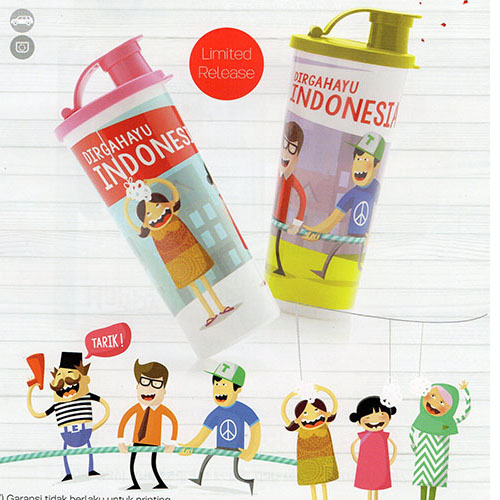 Indonesia Tumbler Tupperware
