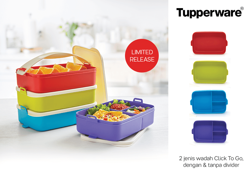 Multi Click To Go Tupperware