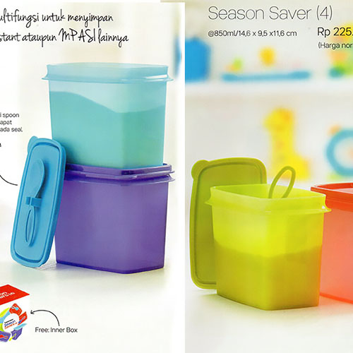 Season Saver Tupperware