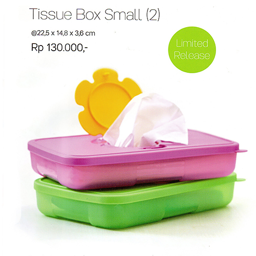 Tissue Box Small Tupperware