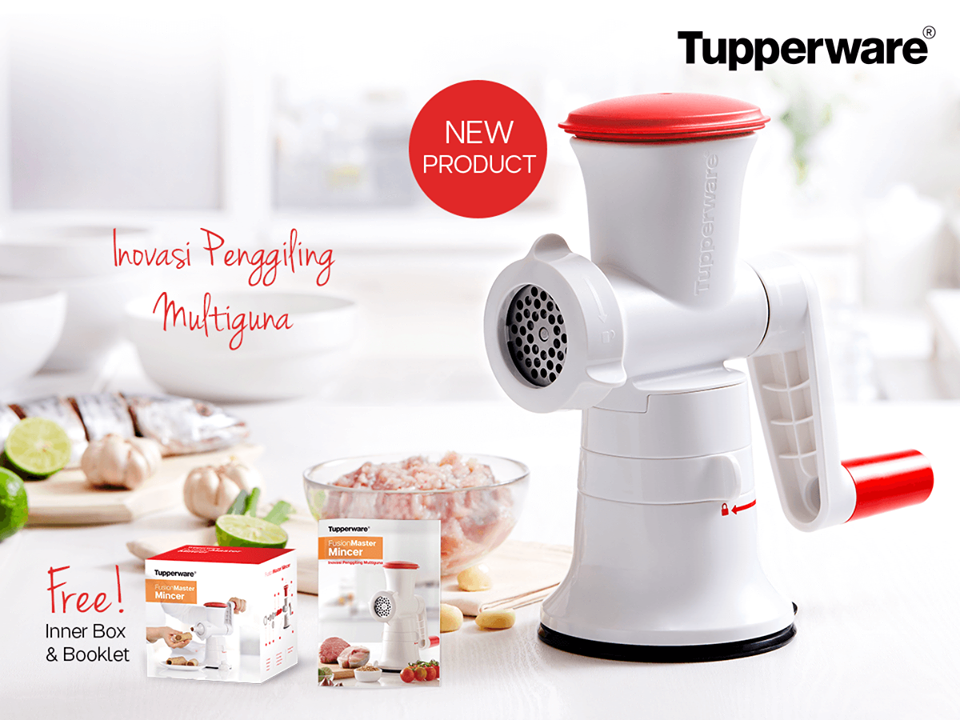 Fusion Master Mincer Tupperware