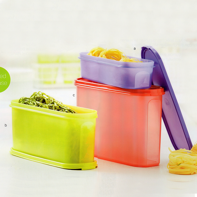 Super Oval Set Tupperware