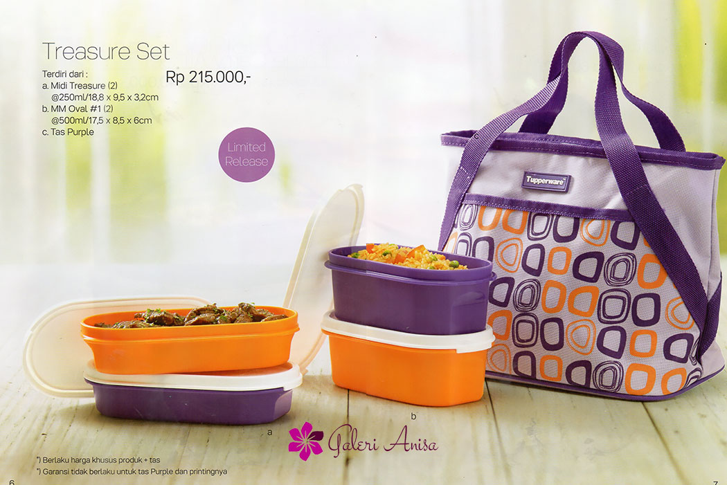 Treasure Set Tupperware