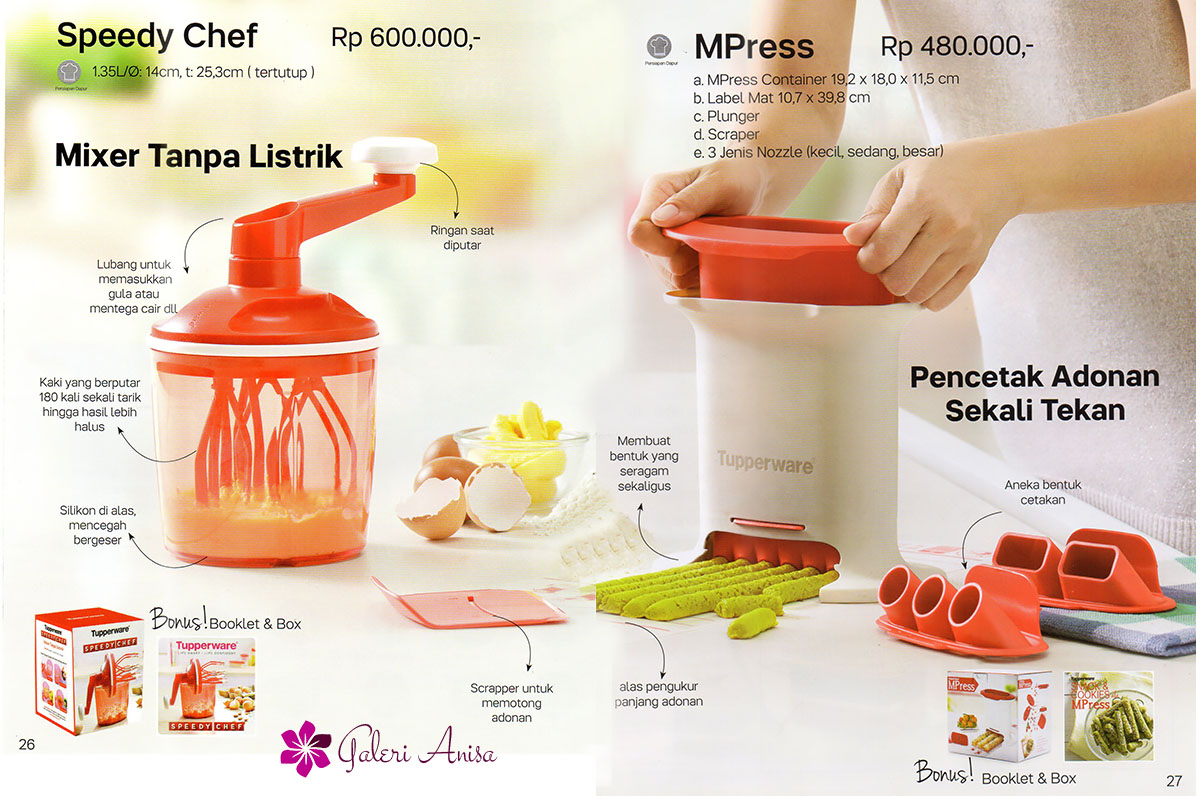Speedy Chef Tupperware