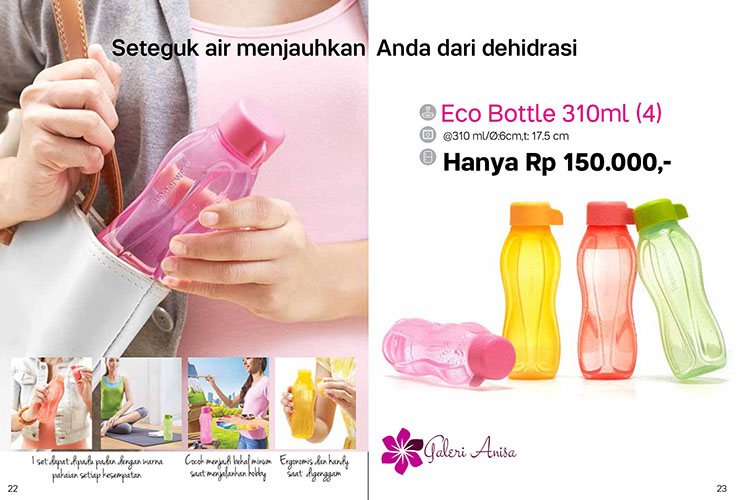 Eco Bottle 310ml Tupperware