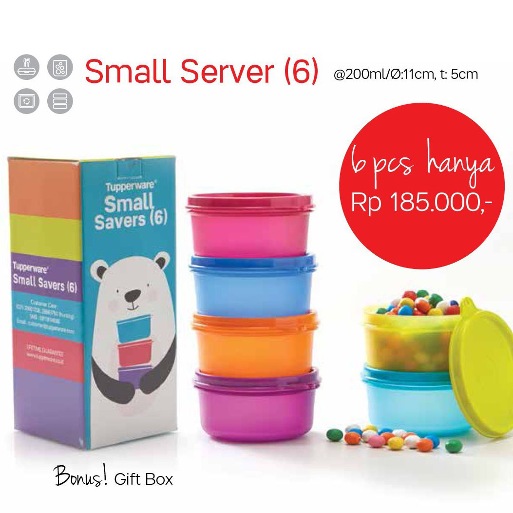 Small Server Tupperware