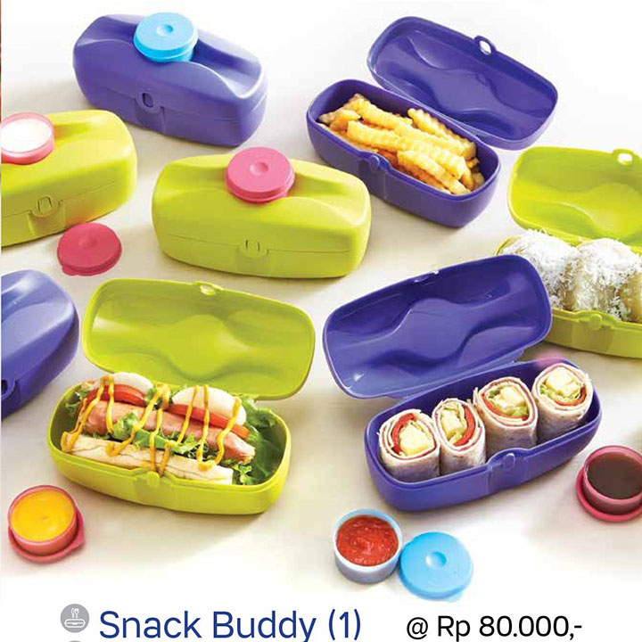 Snack Buddy Tupperware