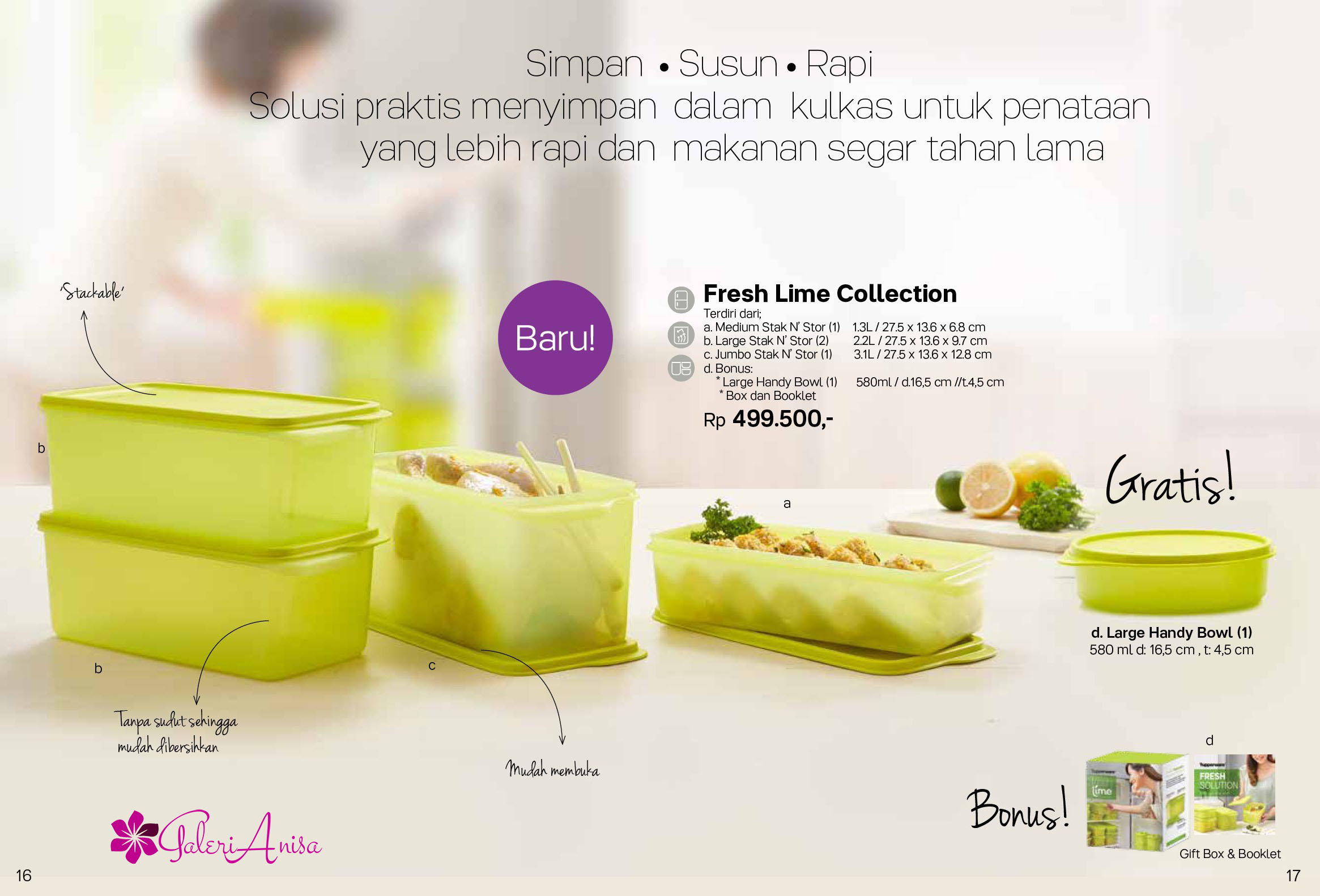 Fresh Lime Collection Tupperware Promo April 2017 9