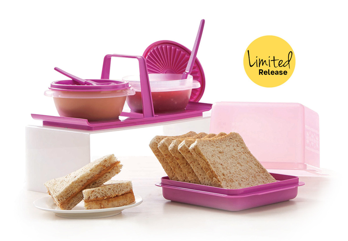bread n Buddy Tupperware