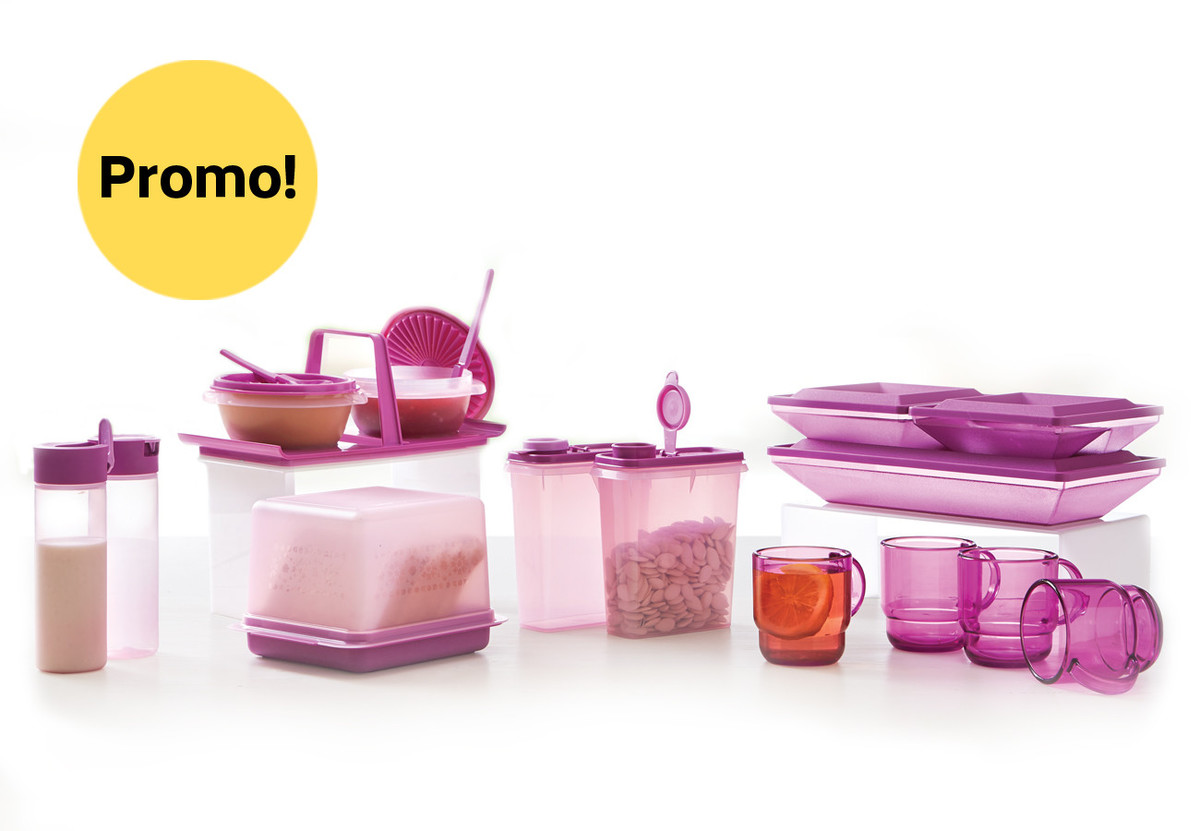 Breakfast Mega Set Tupperware