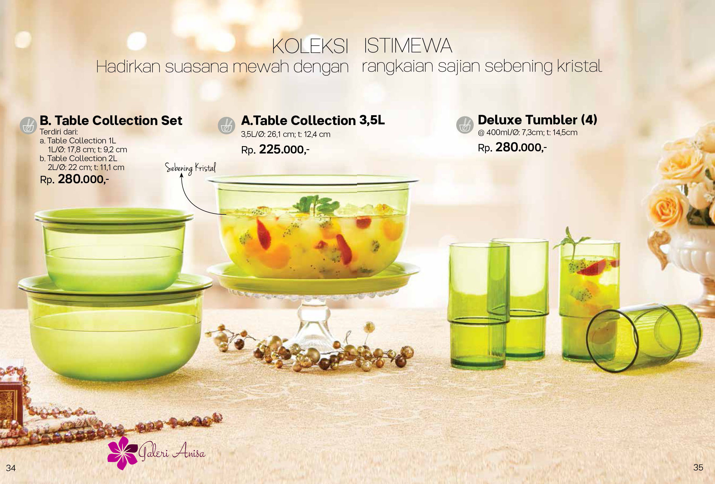 Table Collection Tupperware Promo Mei 2017 17