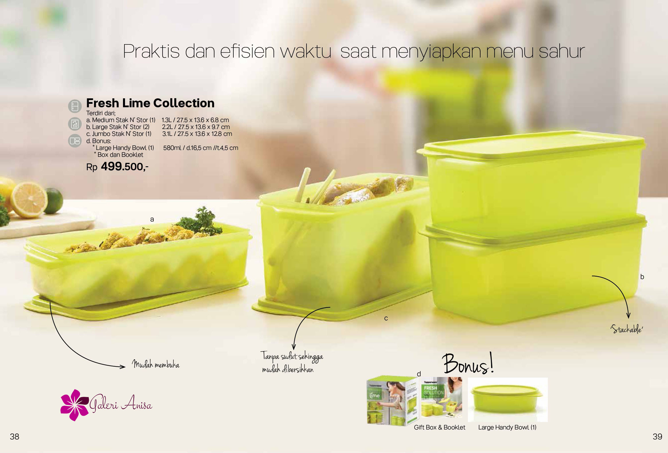 Fresh Lime Collection Tupperware Promo Mei 2017 19