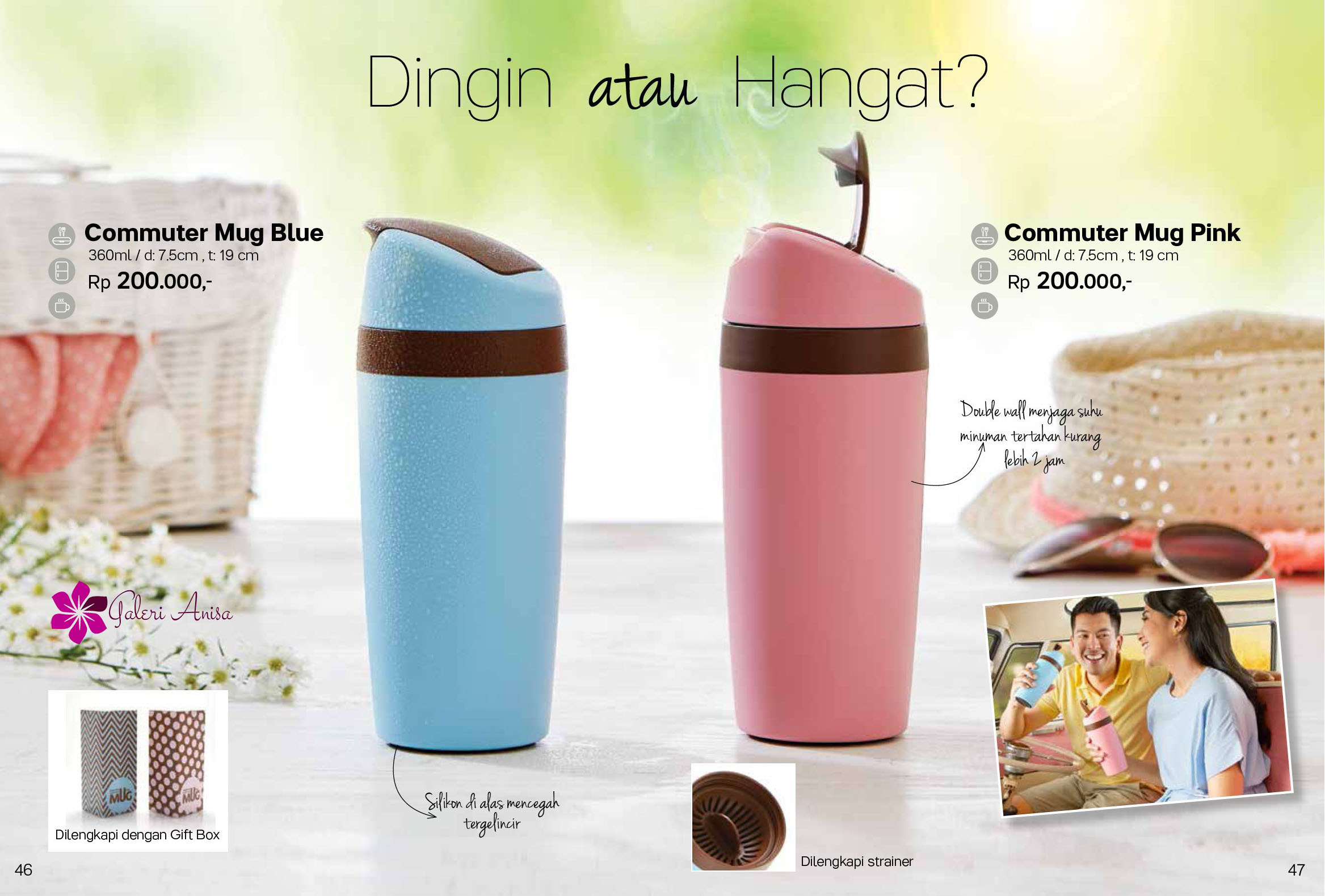 Commuter Mug Tupperware Promo Mei 2017