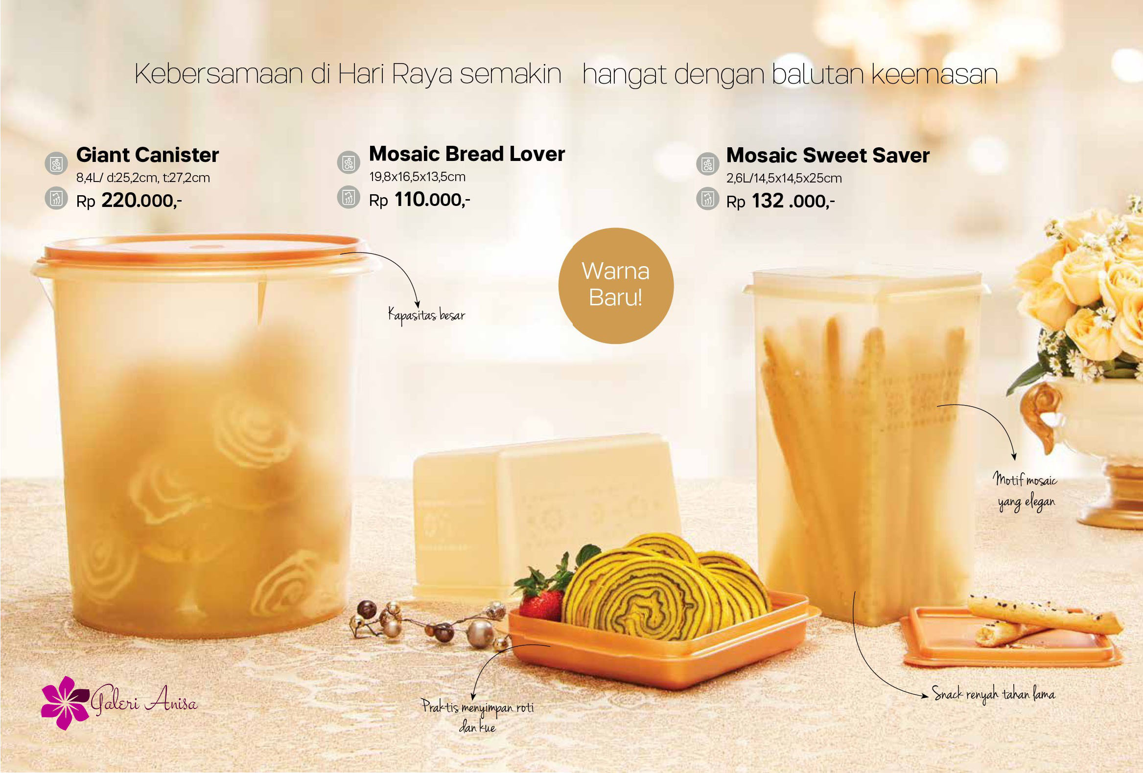 Mosaic Sweet Saver Tupperware Promo Mei 2017 3