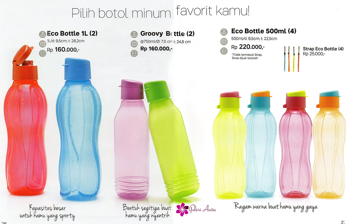 Eco Bottle Tupperware Juni 2017