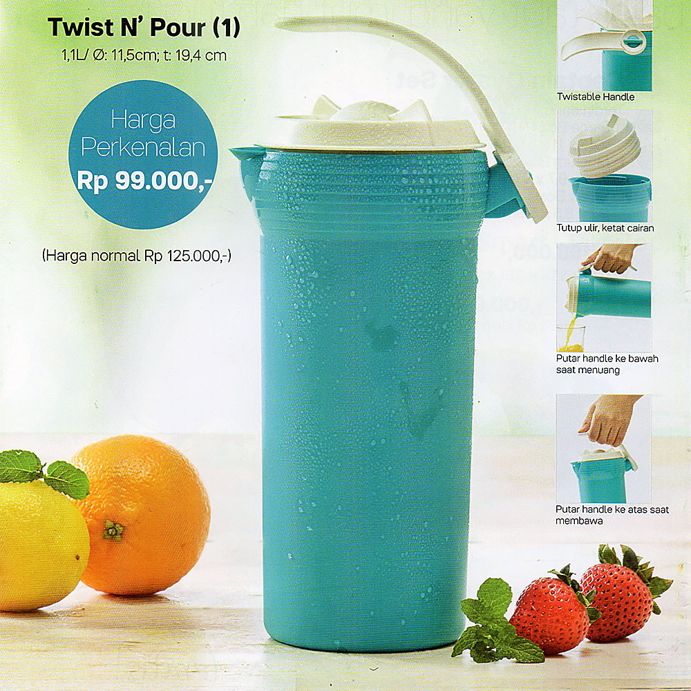 Twist N Pour Tupperware Promo Juli 2017