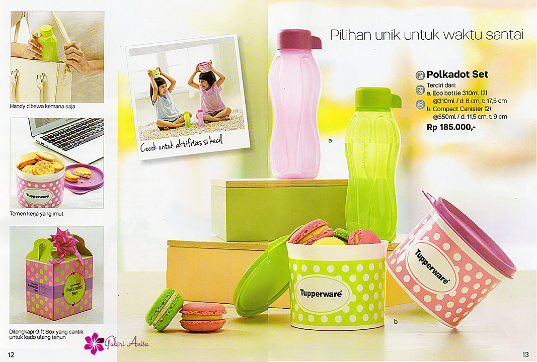 Polkadot Set Tupperware Juli 2017