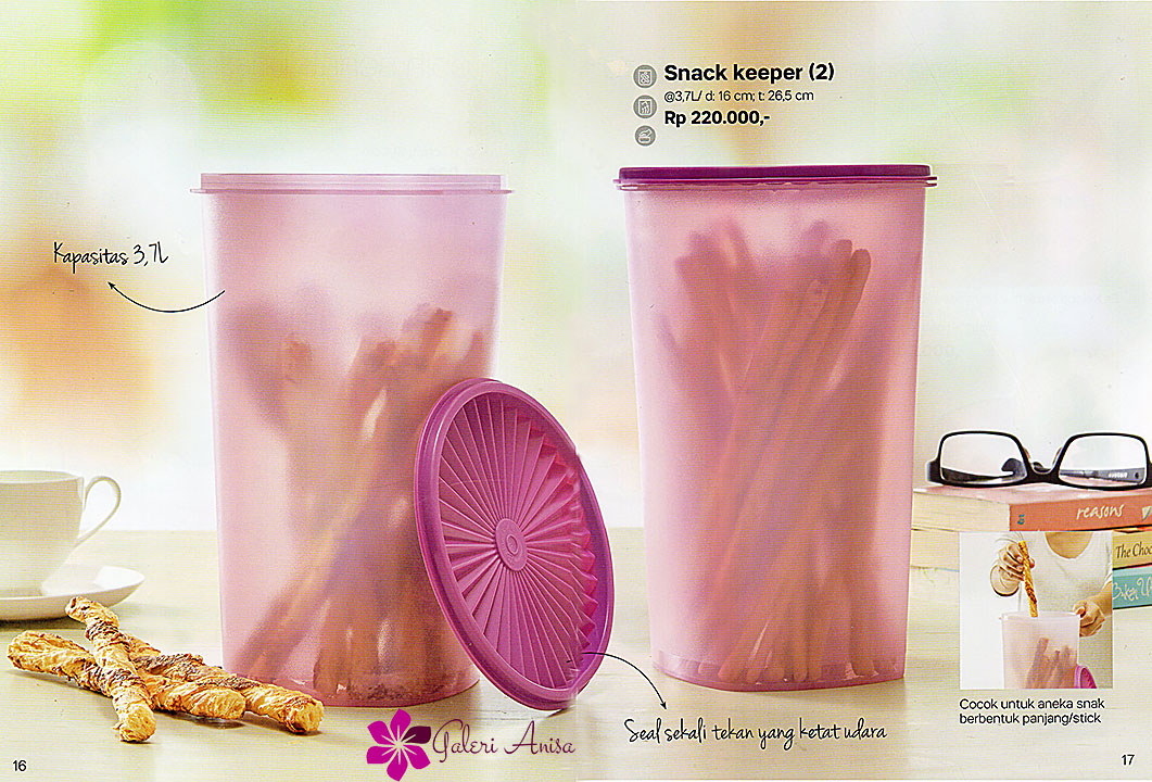 Snack Keeperr Tupperware Juli 2017