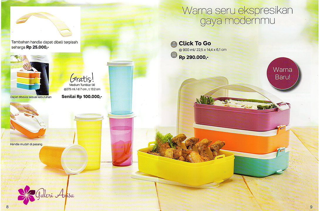 Click To Go Tupperware Juli 2017