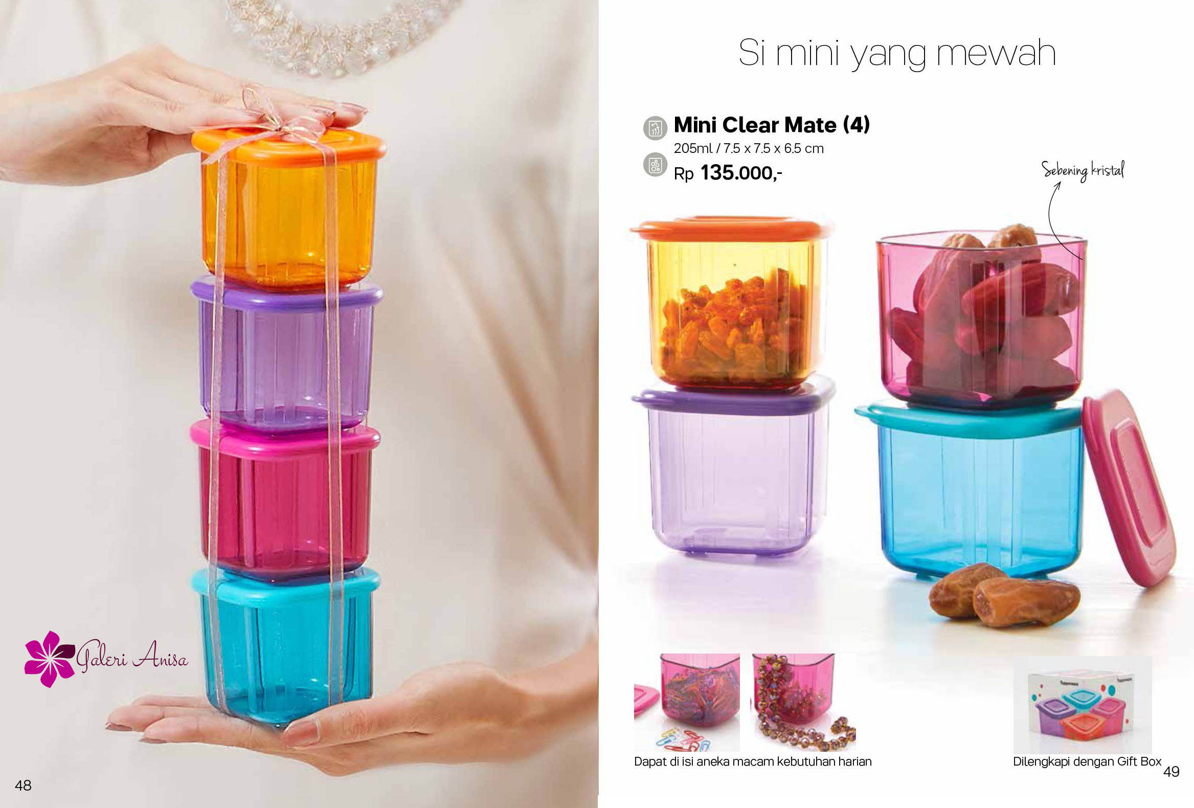 Mini Clear Mate Tupperware Juni 2017