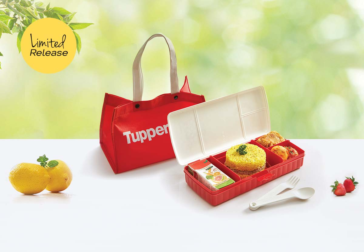 Lunch Keeper Set With Bag Tupperware