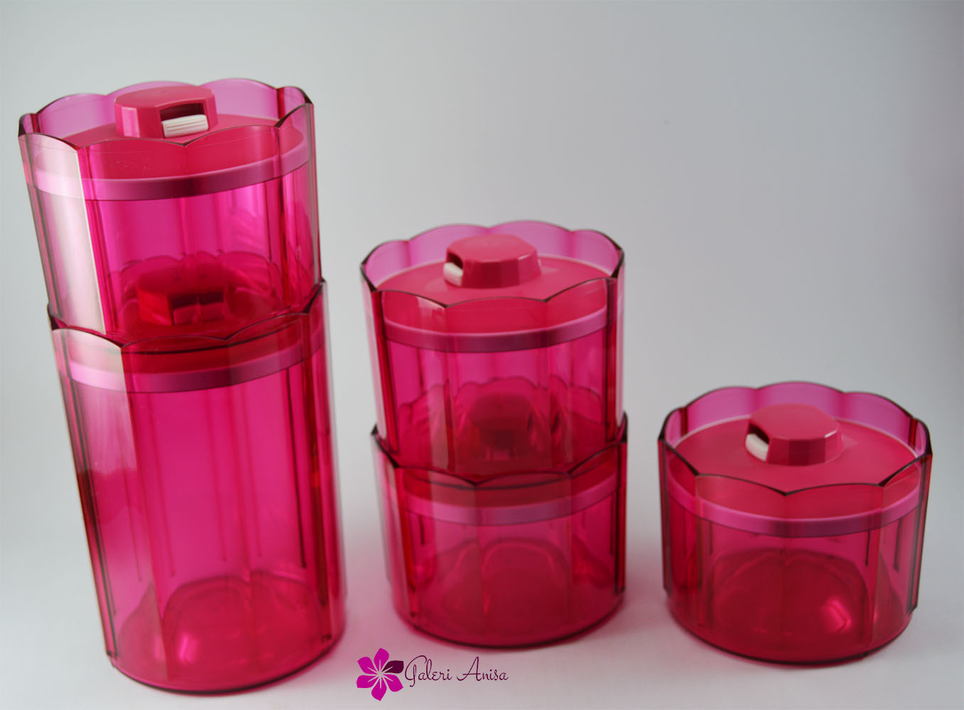 Advanced Counterpart Pink Set Tupperware