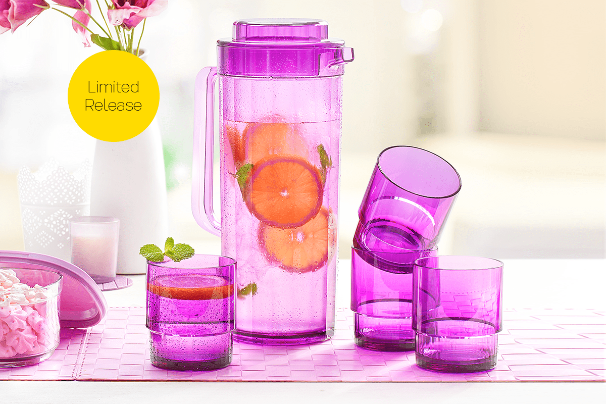 Crystal Tumbler Tupperware