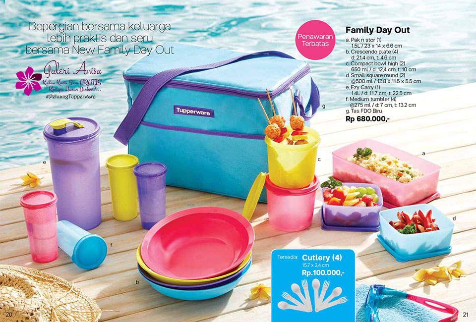 Family Day Out Tupperware Promo Oktober 2017