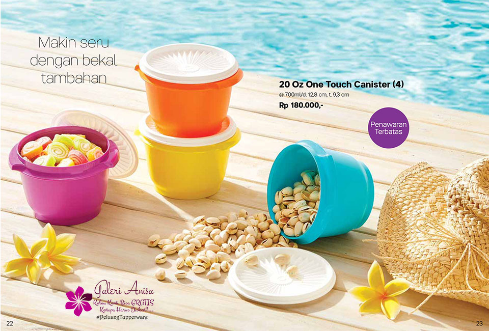 Oz One Touch Tupperware Promo Oktober 2017