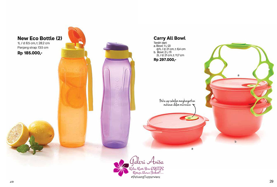 Carry All Bowl Tupperware Promo Oktober 2017