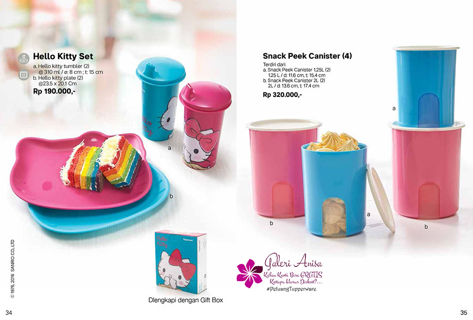 Snack Peek Tupperware Promo Oktober 2017