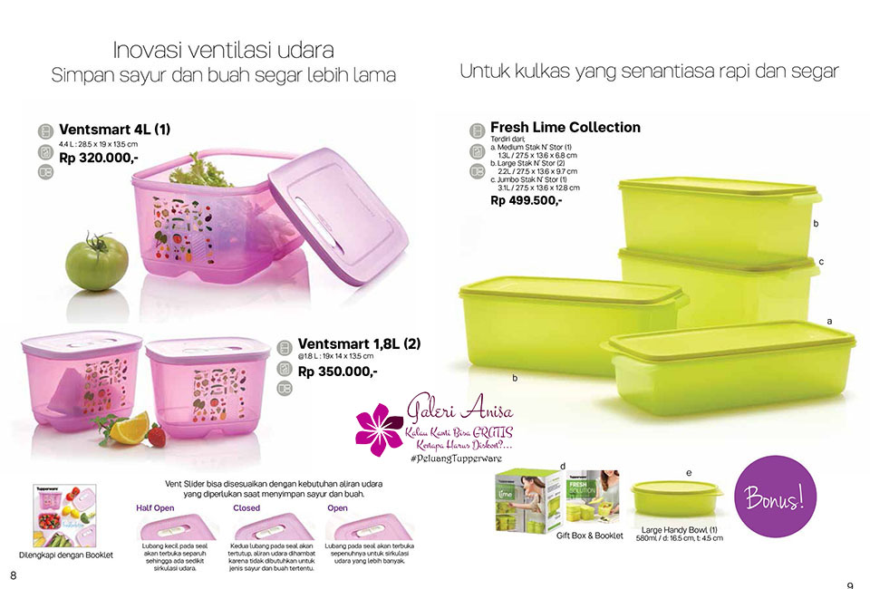 Frsh Lime Collection Tupperware Promo Oktober 2017