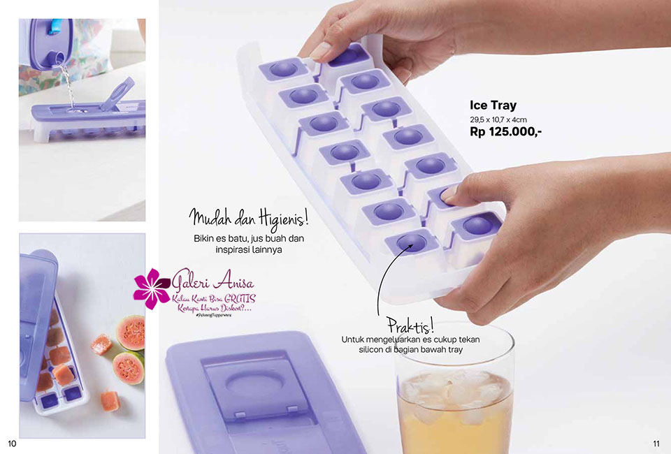Ice Tray Tupperware Promo Oktober 2017
