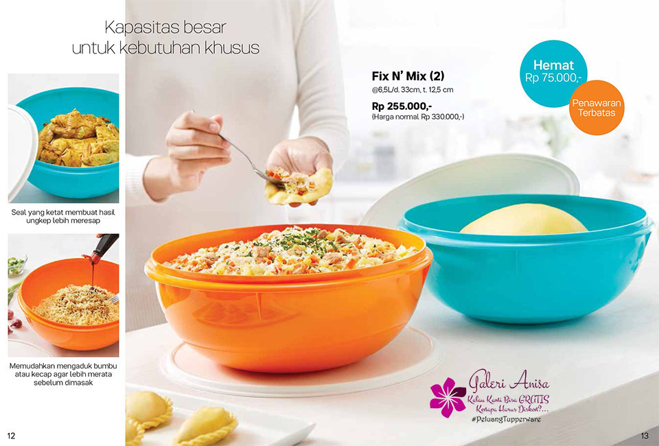 Fix N Mix Tupperware Promo Oktober 2017