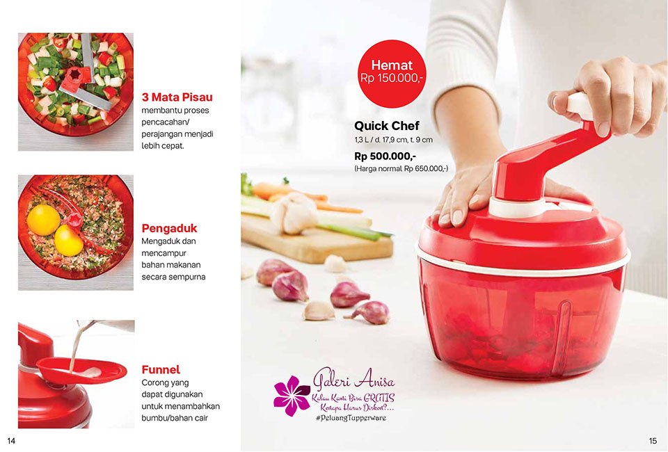 Quick Chef Tupperware Promo Oktober 2017